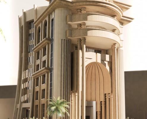 پروژه هتل TORANJ CIY واقع در جزیره کیش میدان امیرکبیر با زیر بنای 5500 متر مربع در حال احداث میباشد .